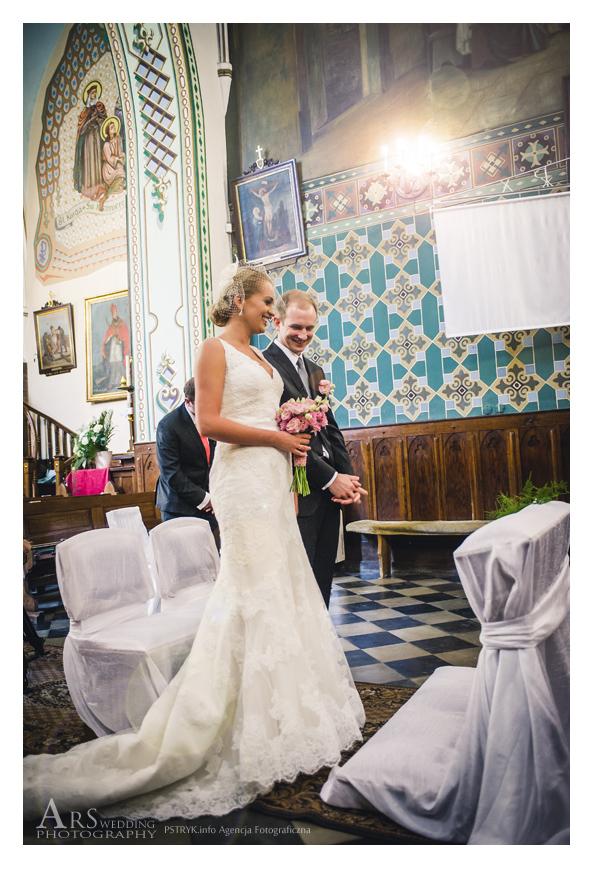 ARS1850s Magda wybiórczo w dniu ślubu